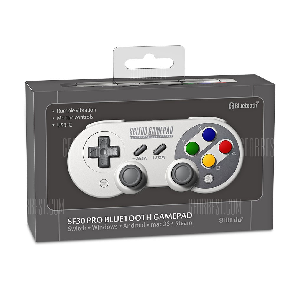 8Bitdo SF30 Pro Wireless Bluetooth Controller 7