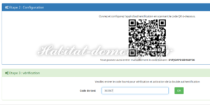 Verification code 300x150 - [TUTORIEL] Double authentification avec Jeedom