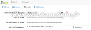 double authentification active nini 300x102 - [TUTORIEL] Double authentification avec Jeedom