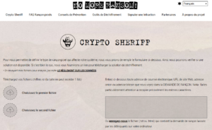 Ransomware No More Ransom Sheriff