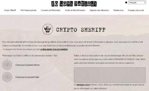 Ransomware No More Ransom Sheriff 300x184 - Ransomware, comment récupérer vos données ?