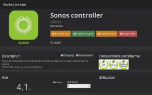 Sonos One plugin