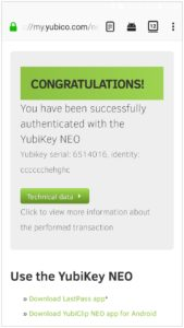 Yibikey NEO scan 1