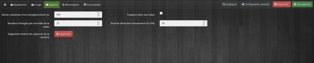Caméra config 3 1024x207 - [TUTORIEL] Intégration d'une caméra dans Jeedom
