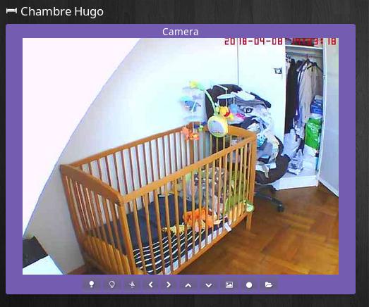Camera panel - [TUTORIEL] Intégration d'une caméra dans Jeedom
