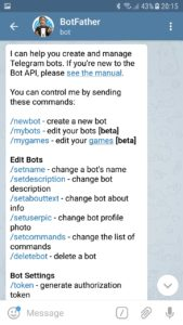Telegram smart 2