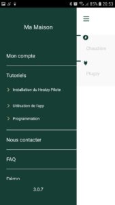 heatzy app panel 169x300 - Test du programmateur connecté Heatzy Pilote