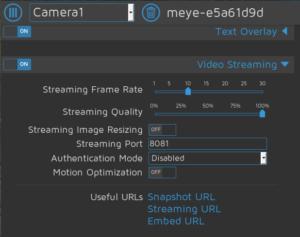 Jeedom camera 4 300x237 - [TUTORIEL] Associer caméra IP DIY et Jeedom