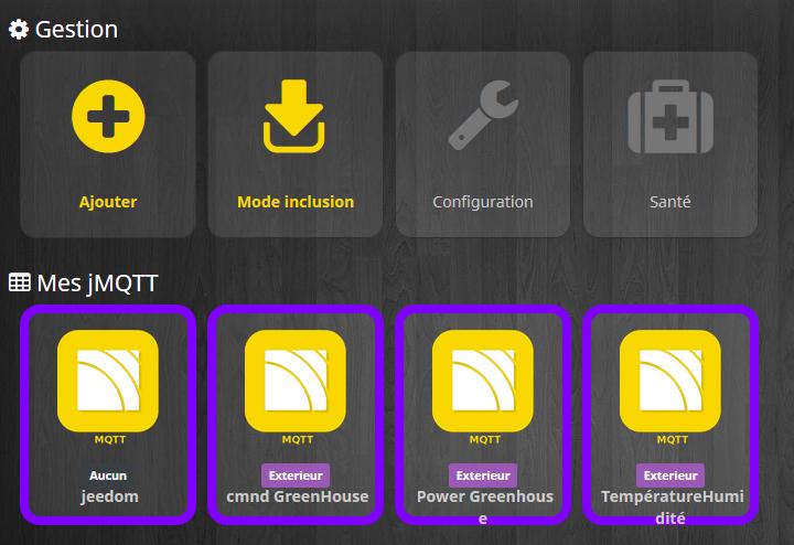 Jmqtt inclusion - Fabriquer son capteur de température humidité connecté