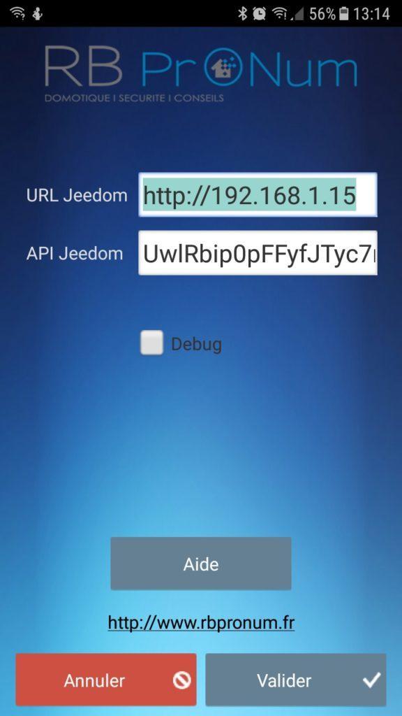 Screenshot 20180531 131413 576x1024 - Pilotez Jeedom à la voix avec VocalDom