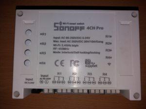 Sonoff 4CH Pro 1