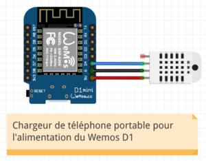 Wemos1 300x234 - Fabriquer son capteur de température humidité connecté