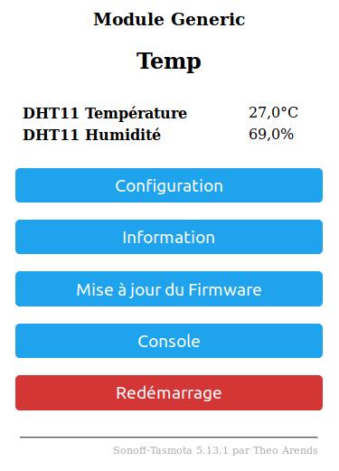 wemos4 - Fabriquer son capteur de température humidité connecté