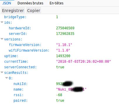 API Web Nuki 1
