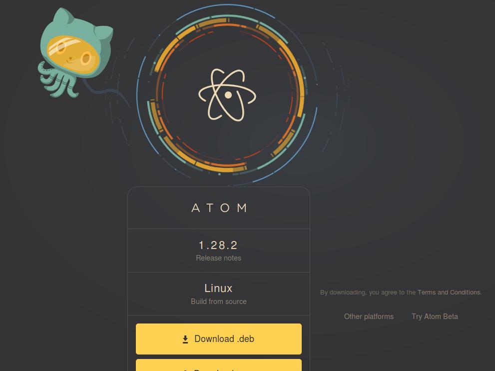 Atom install
