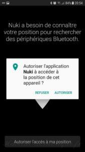 Nuki Smartphone 23 169x300 - Utilisation de la serrure connectée Nuki