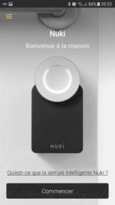 Nuki Smartphone 27 169x300 - Utilisation de la serrure connectée Nuki