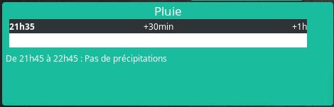 alerte pluie dashboard - [TUTORIEL] Alerte pluie avec Jeedom