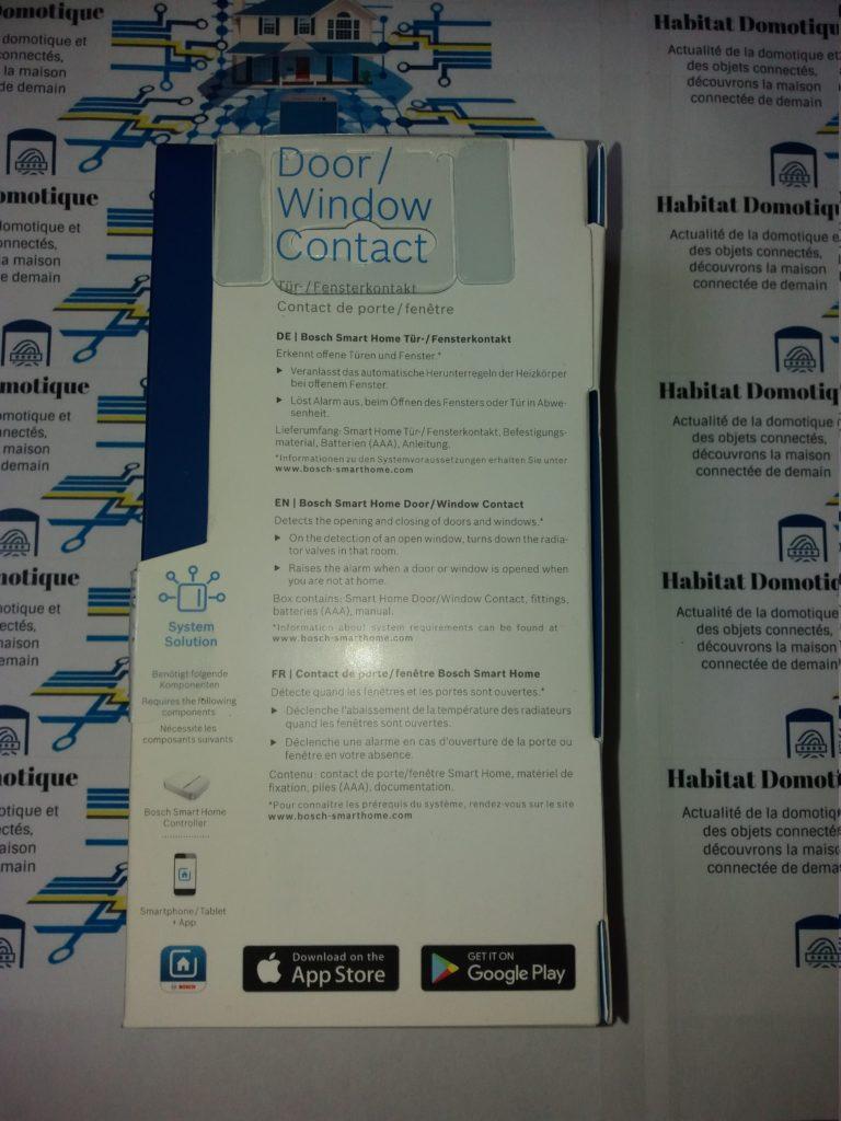Détecteur douverture pres1 768x1024 - Détecteur d'ouverture connecté Bosch Smart Home