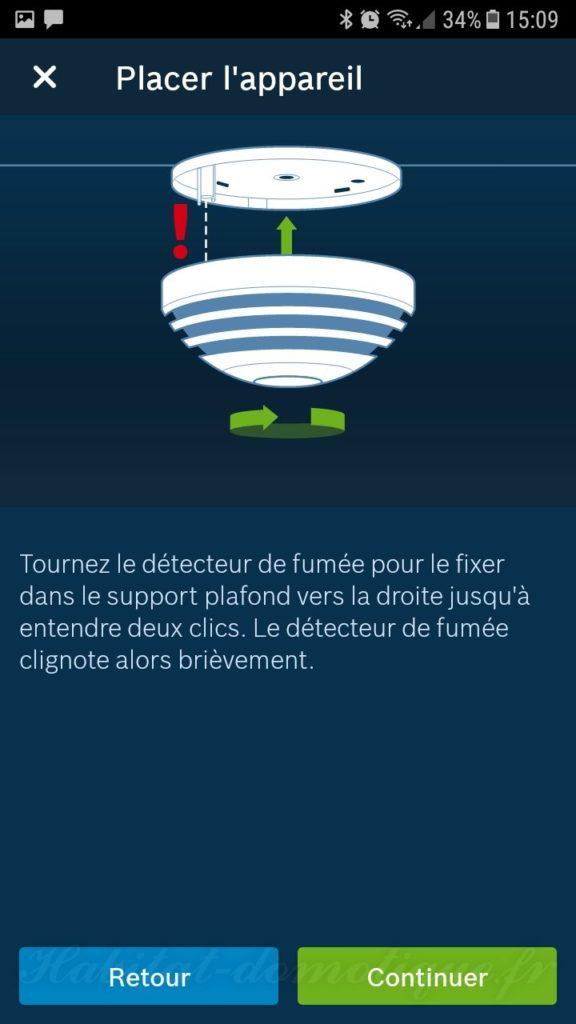 Détecteur fumée install 09 576x1024 - Détecteur de fumée connecté Bosch Smart Home