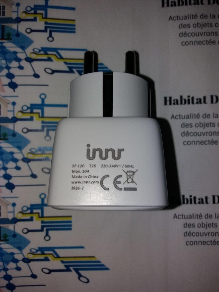 Innr SP120 detail 2 e1536868452139 768x1024 - Prise connectée SP120 de Innr
