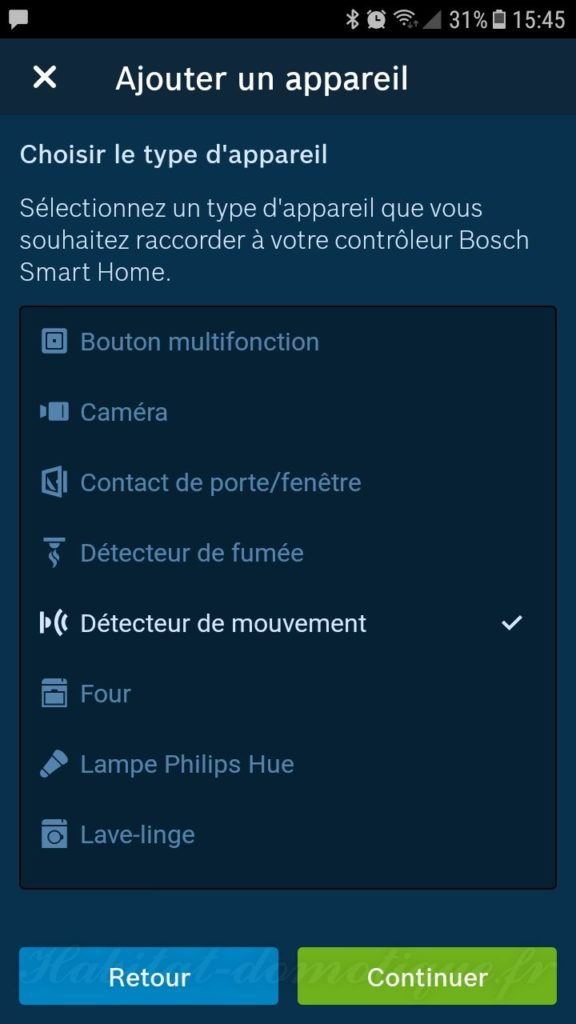 détecteur de mouvement Bosch install 01