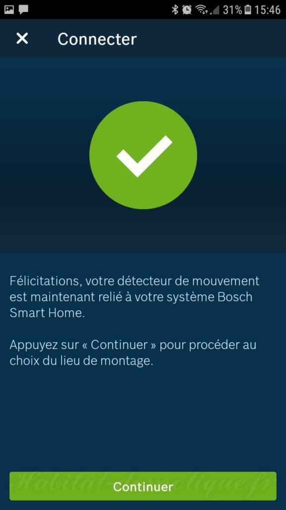 détecteur de mouvement Bosch install 04