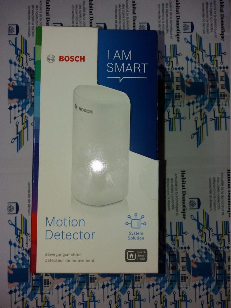 détecteur de mouvement Bosch pres 01