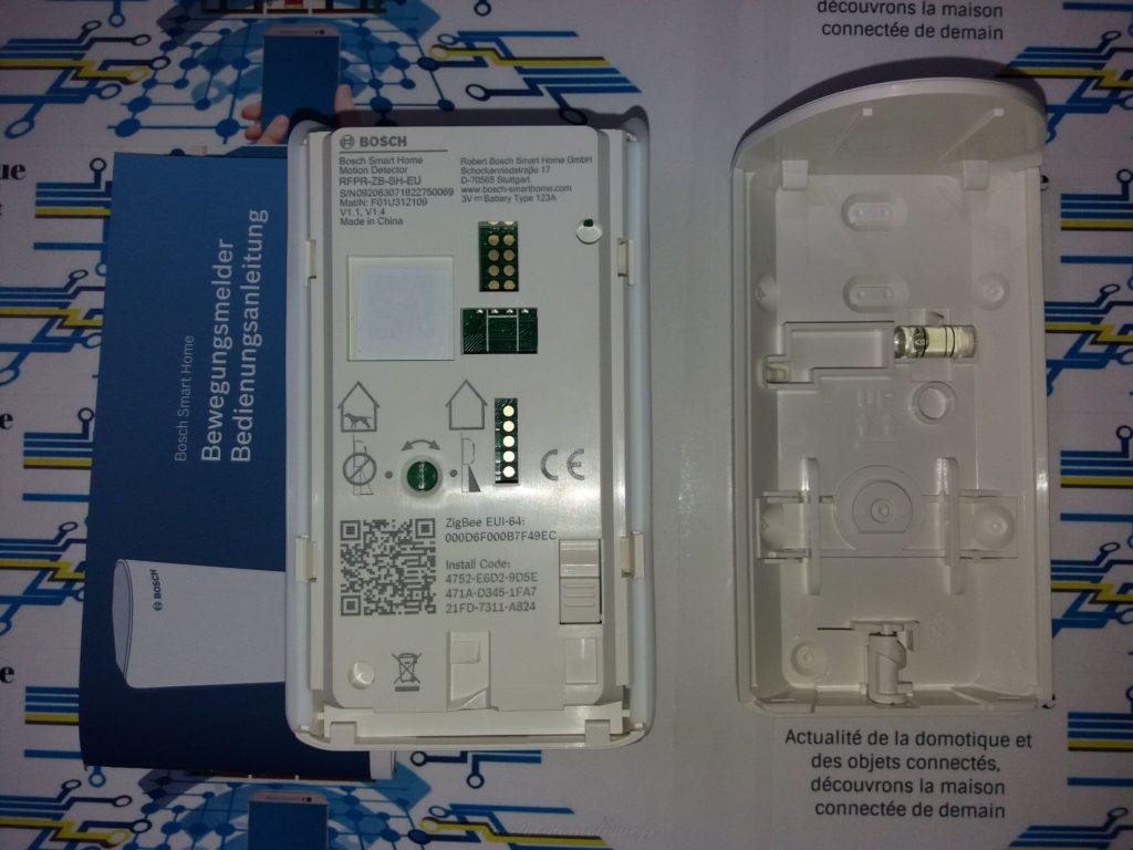 détecteur de mouvement Bosch pres 06