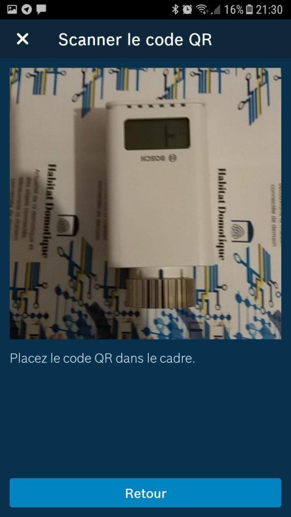 thermostat de radiateur Bosch install 03