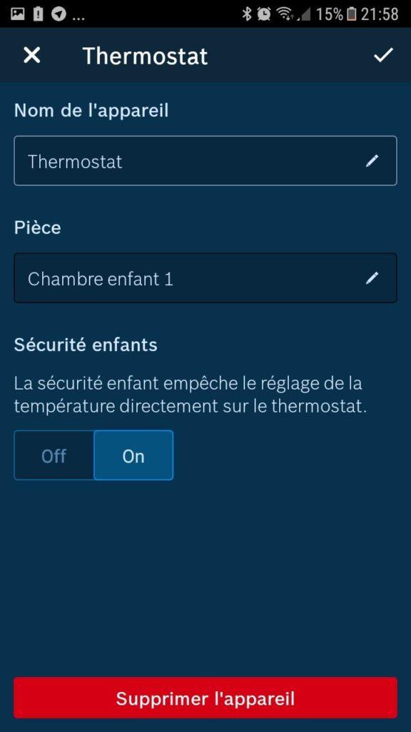 thermostat de radiateur Bosch install 09
