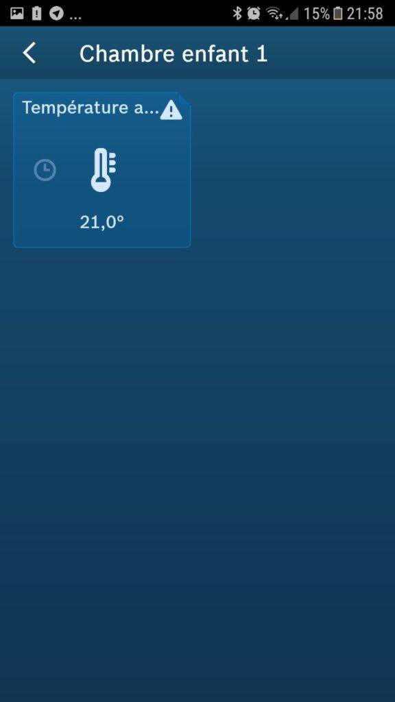 thermostat de radiateur Bosch install 10
