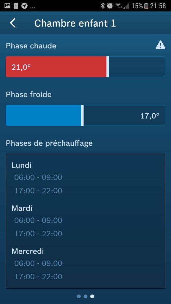 thermostat de radiateur Bosch install 13