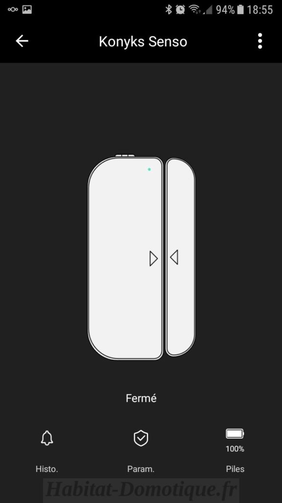 Installation-détecteur-ouverture-WiFi-Senso-Konyks-09