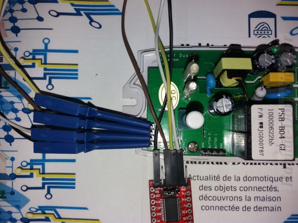 Reprog Sonoff Dual R2 prep 04 e1540130831876 1024x768 - [TUTORIEL] Reprogrammer un Sonoff Dual R2