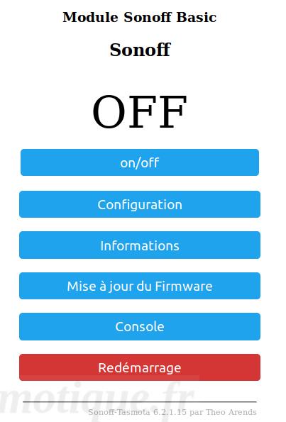 Reprogrammer Sonoff SC config 01 - Reprogrammer un Sonoff SC et l'intégrer à Jeedom