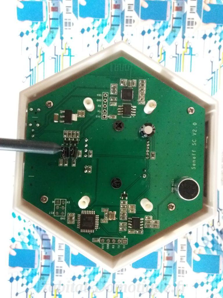 Reprogrammer Sonoff SC prep 03 768x1024 - Reprogrammer un Sonoff SC et l'intégrer à Jeedom