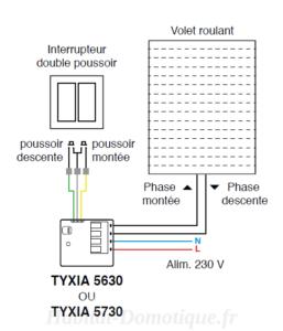 centralisation de volets roulants Install 01 257x300 - Centralisation de volets roulants TYXIA 541
