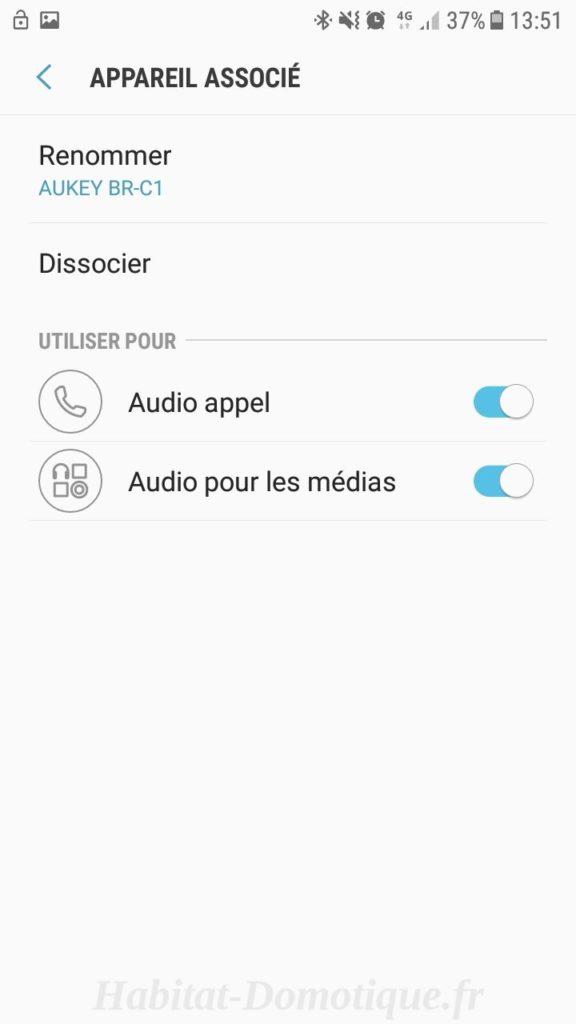 Recepteur Bluetooth BR C1 Install 04 576x1024 - Test du récepteur Bluetooth BR-C1 de Aukey