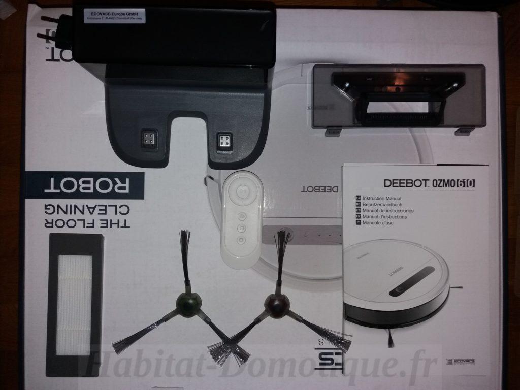 Deebot Ozmo 610 Presentation 01 1024x768 - Test de l'aspirateur laveur DEEBOT Ozmo 610