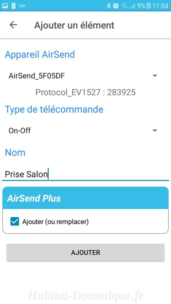 AirSend Installation 08 576x1024 - Test de la solution domotique AIRSEND de DEVMEL
