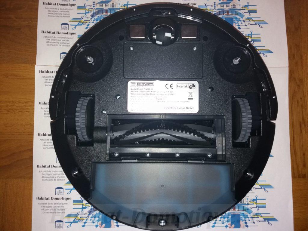 DEEBOT N79S Presentation 03 1024x768 - Test de l'aspirateur Deebot N79S