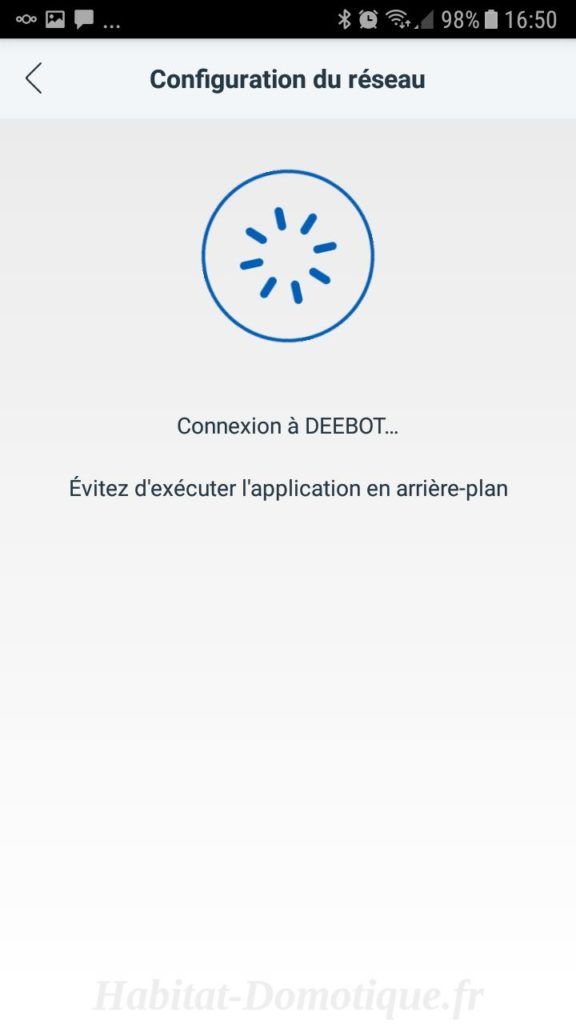 DEEBOT N79S Utilisation 07 576x1024 - Test de l'aspirateur Deebot N79S