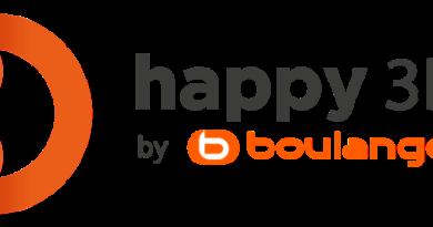 Happy 3D-Logo