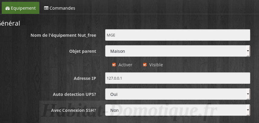 Monitorer Onduleur avec Jeedom Configuration 02 - Monitorer son onduleur avec Jeedom