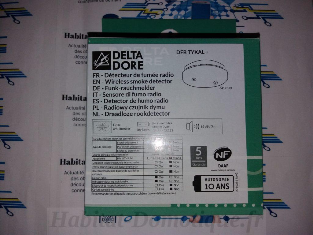 Détecteur fumée DFR Tyxal produit 01 1024x768 - Détecteur de fumée DFR Tyxal+ de Delta Dore