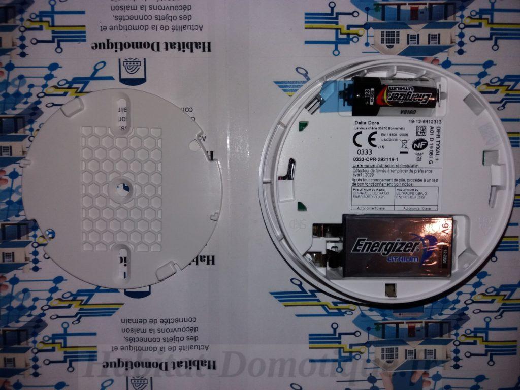 Détecteur fumée DFR Tyxal produit 04 1024x768 - Détecteur de fumée DFR Tyxal+ de Delta Dore