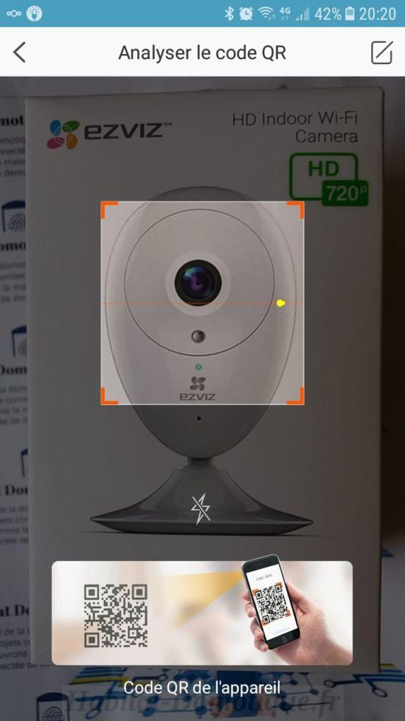 EZVIZ C2C mini O Installation01 576x1024 - Test de la caméra EZVIZ C2C mini O