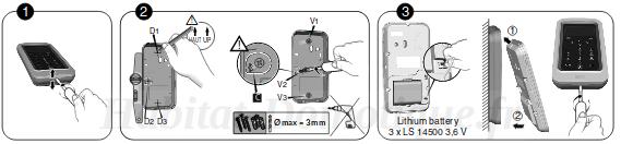 Tyxal Access Delta Dore installation09 - Installation pack alarme Tyxal+ Access Delta Dore