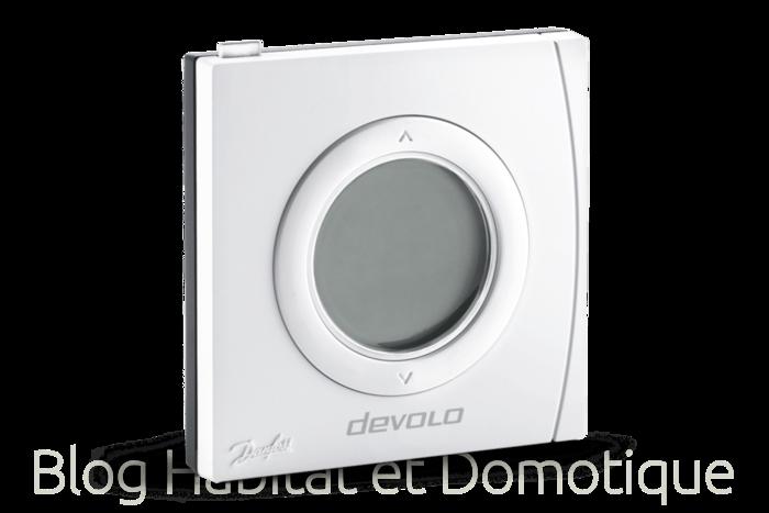 Thermostat ambiance radiateur Devolo 01 - Présentation du thermostat d'ambiance et de radiateur intelligent Devolo